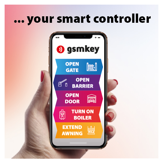 Smart controller in your pocket - GSM KEY