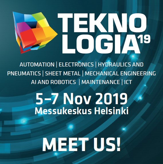 Meet us at Teknologia fair in Helsinki