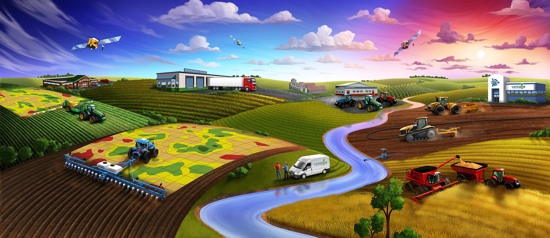 Budoucnost zemědělství je v rukou Trimble