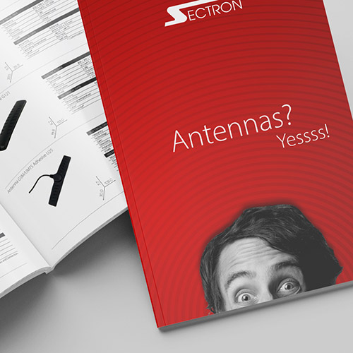 New virtual catalogue of antennas