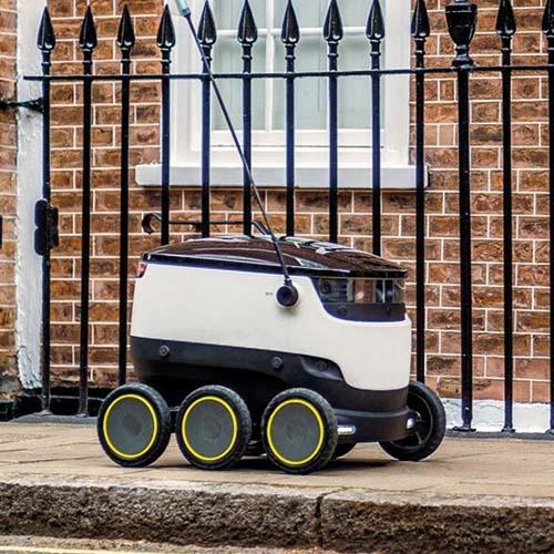 Autonomous Delivery Robots ROBUSTEL